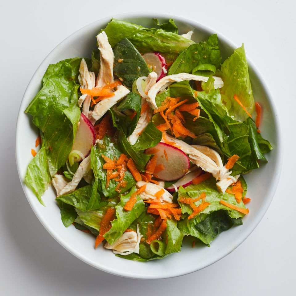 Sesame-Ginger Chicken Salad