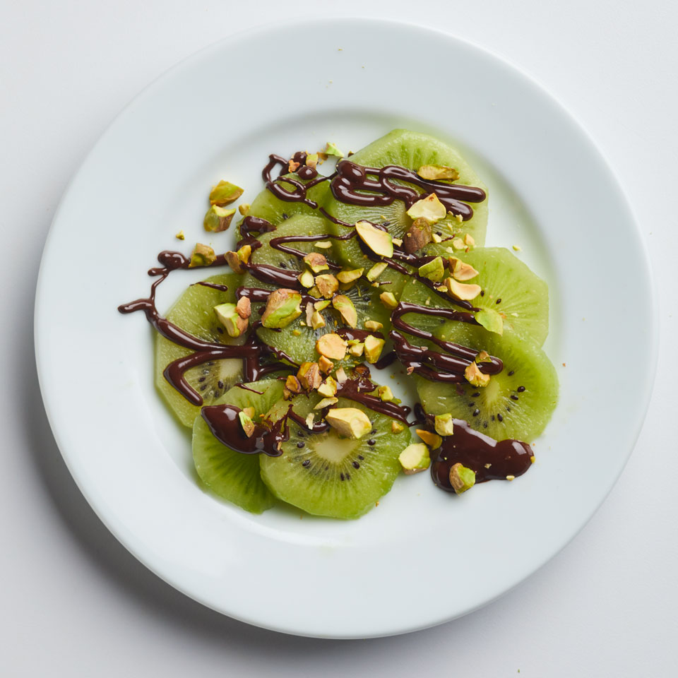 Chocolate-Pistachio Kiwi