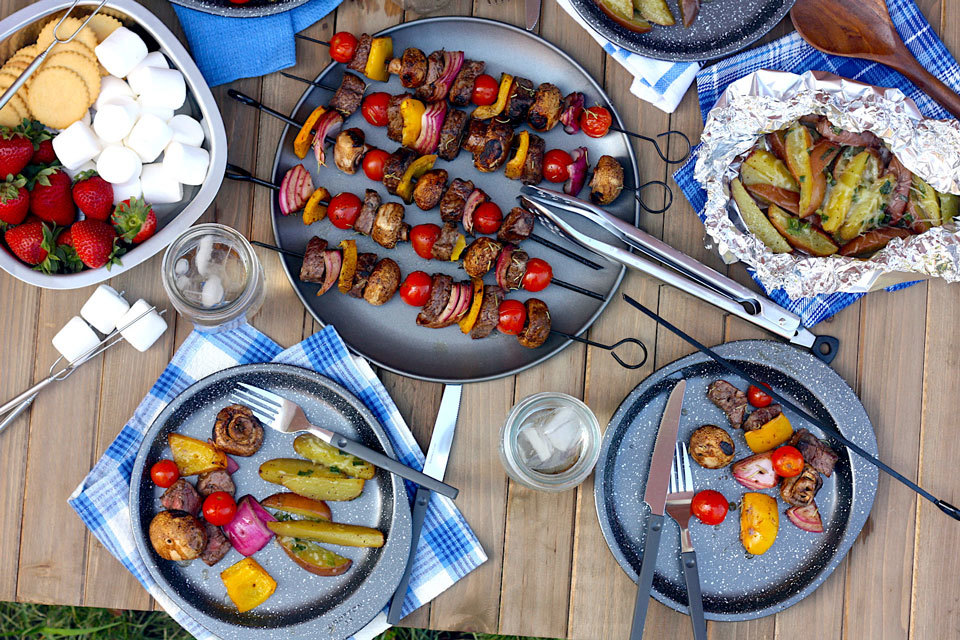 Make-Ahead Camping Weekend Meal Plan, S'mores Included!