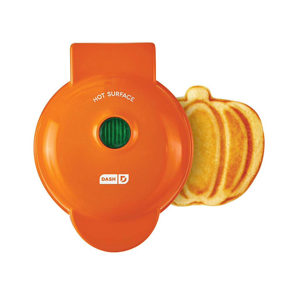 Fall-Themed Waffle Maker From Amazon