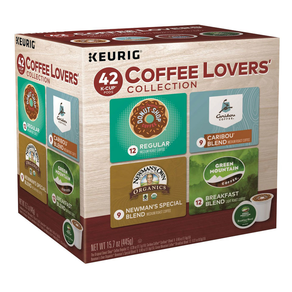 Keurig Coffee Lovers' Collection of 42 K-Cup Pods
