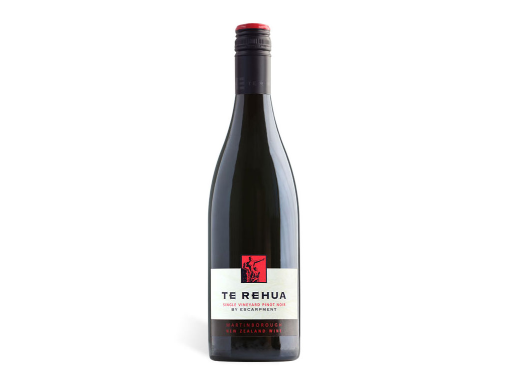 "bottle of 2014 Escarpment Pinot Noir ""Te Rehua"", Martinborough, NZ"