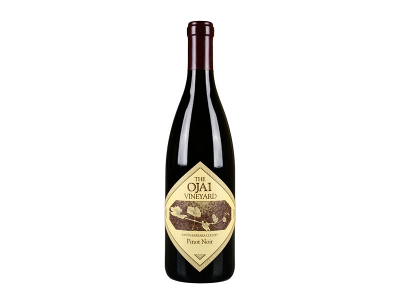 bottle of 2015 The Ojai Vineyard Pinot Noir Santa Barbara County, CA