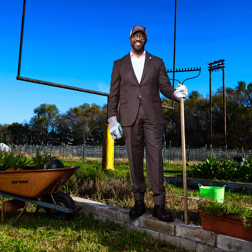 This College Swapped Their Football Field for a Farm to Fight Hunger