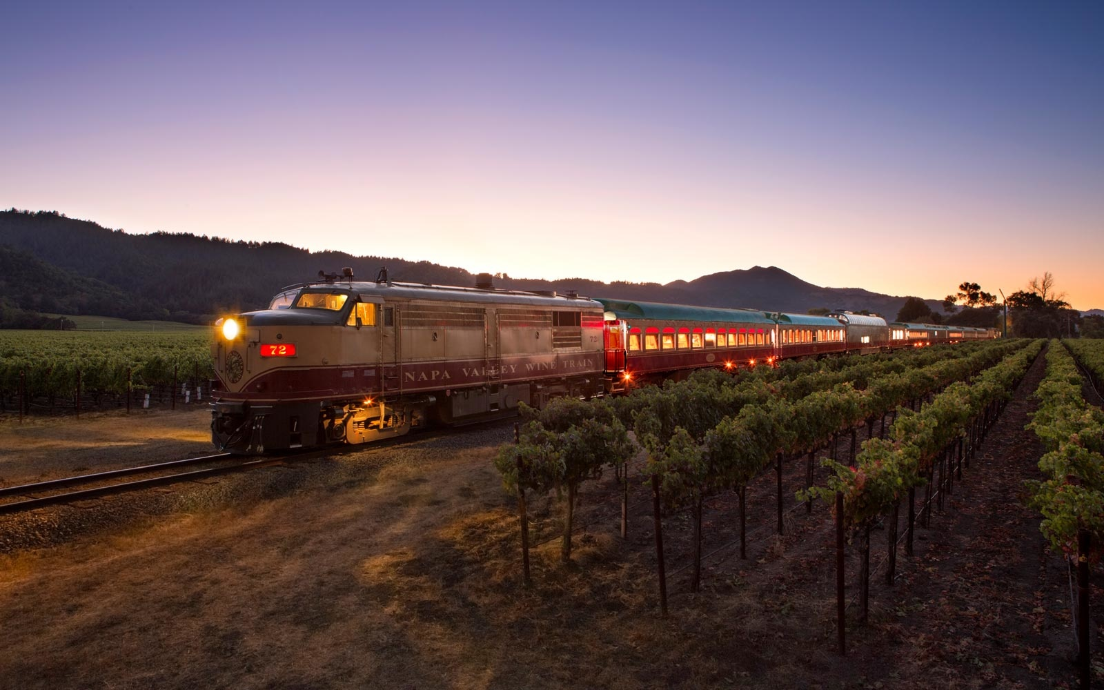 You Can Play Detective While Dressed in Neon on the Napa Valley Wine Train's '80s-themed Murder Mystery Ride