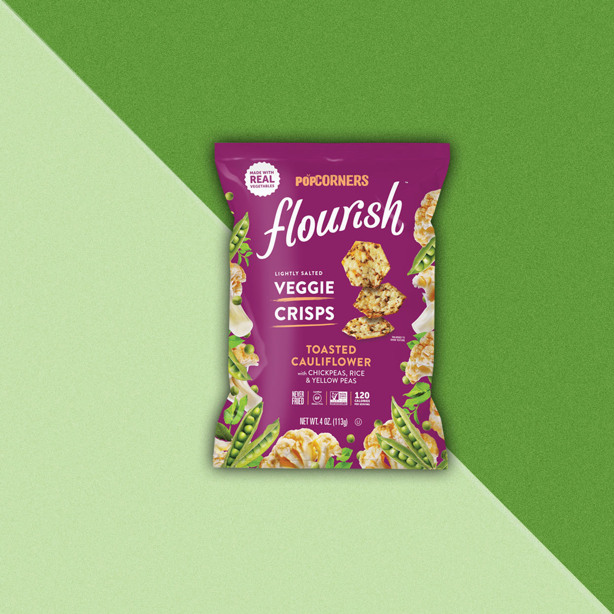 PopCorners Flex and Flourish Crisps