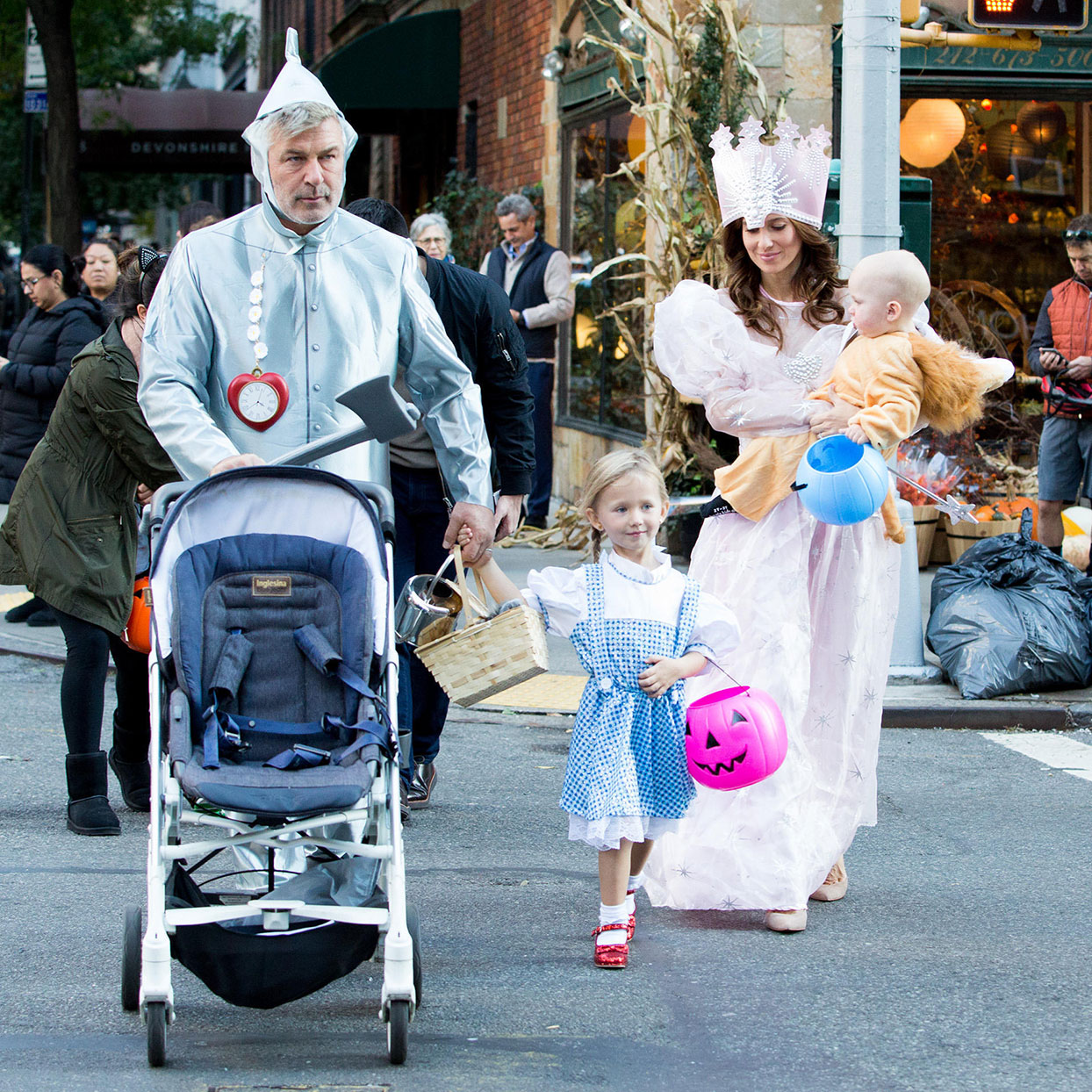 Hilaria Baldwin Shares Her Halloween Tricks and Treats