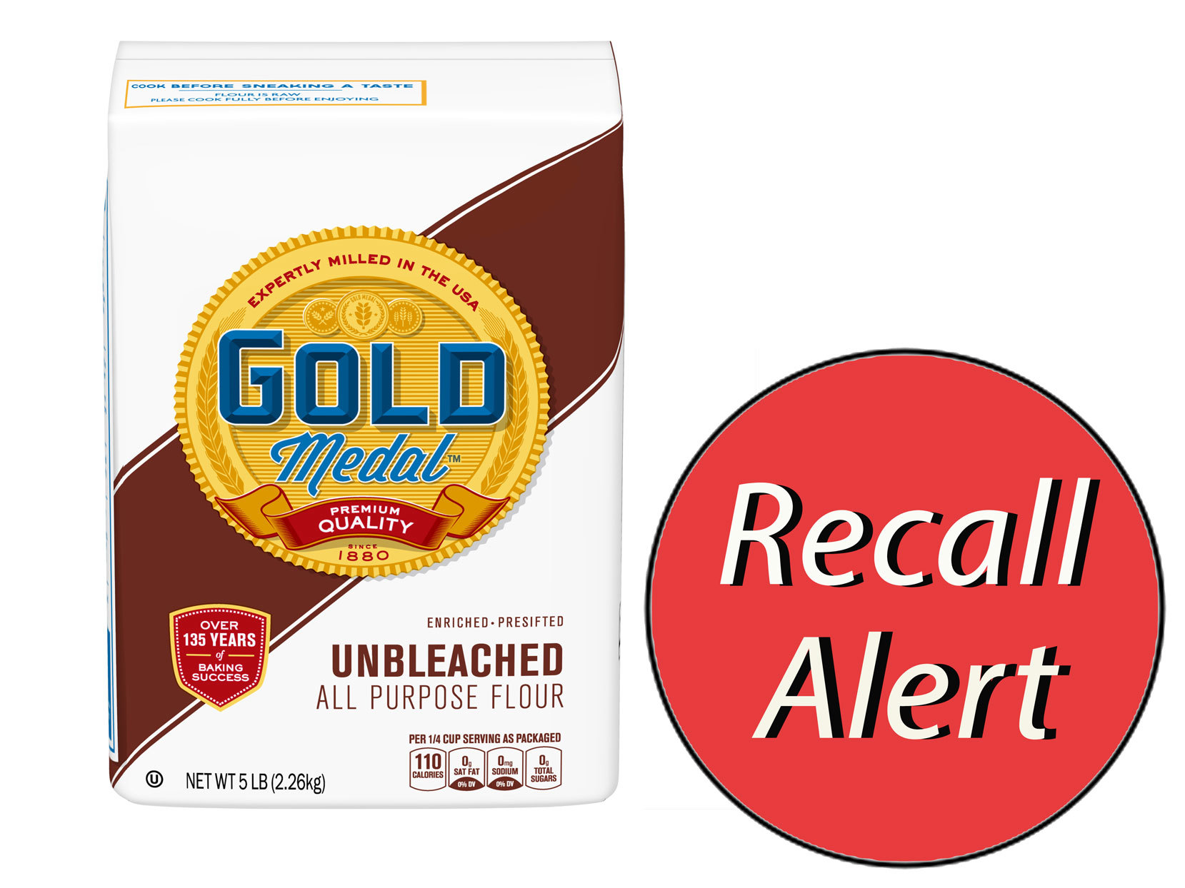 General Mills Recalls Gold Medal Unbleached All-Purpose Flour Nationwide for Possible E.Coli Contamination