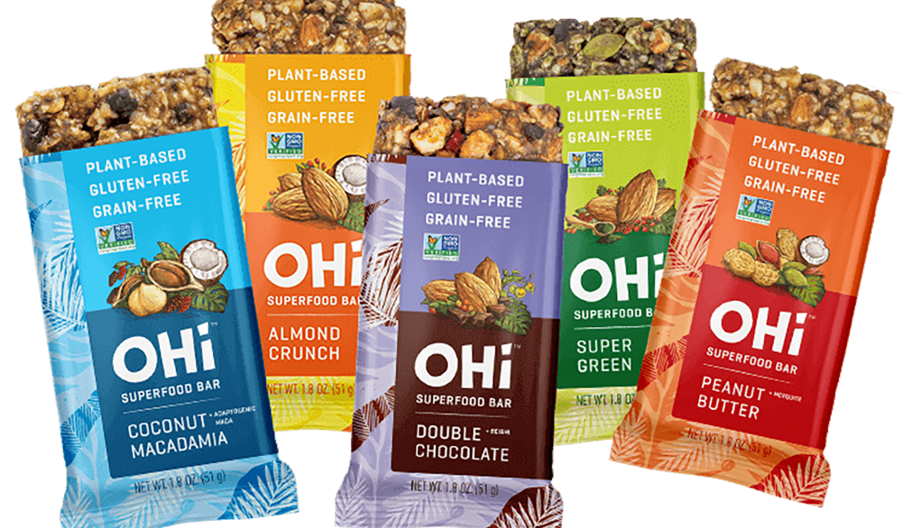 Say Hello to OHi Bars, the Best-Tasting Meal Replacement Bar on the Market