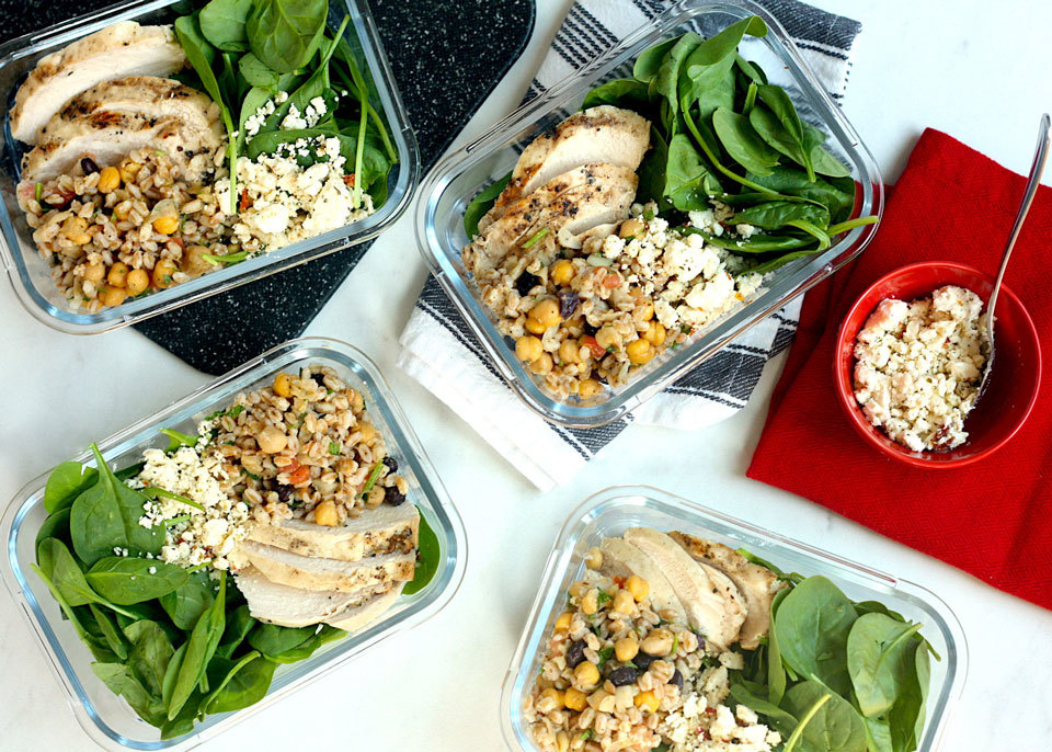 How to Meal Prep A Week of High-Protein Lunches from Trader Joe's