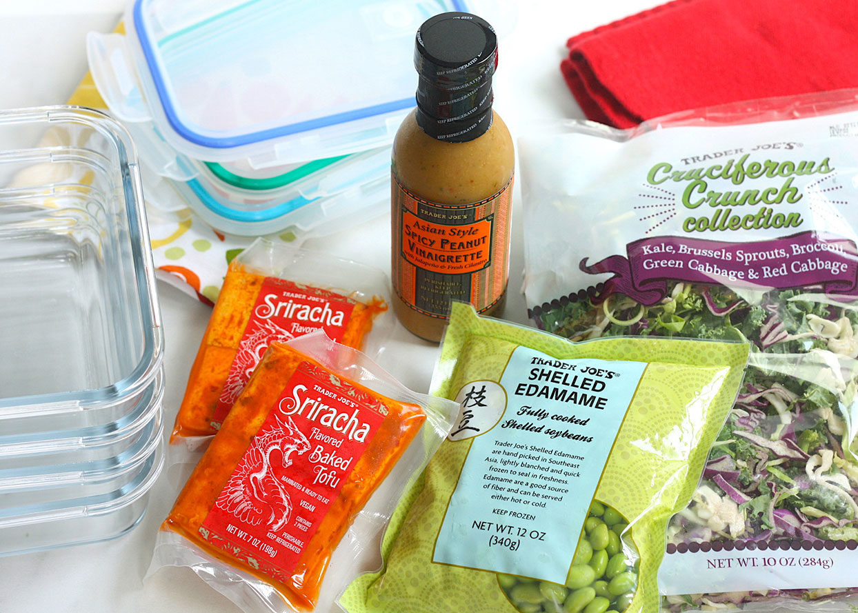 How To Meal Prep A Week Of High Protein Lunches From Trader Joe S Eatingwell