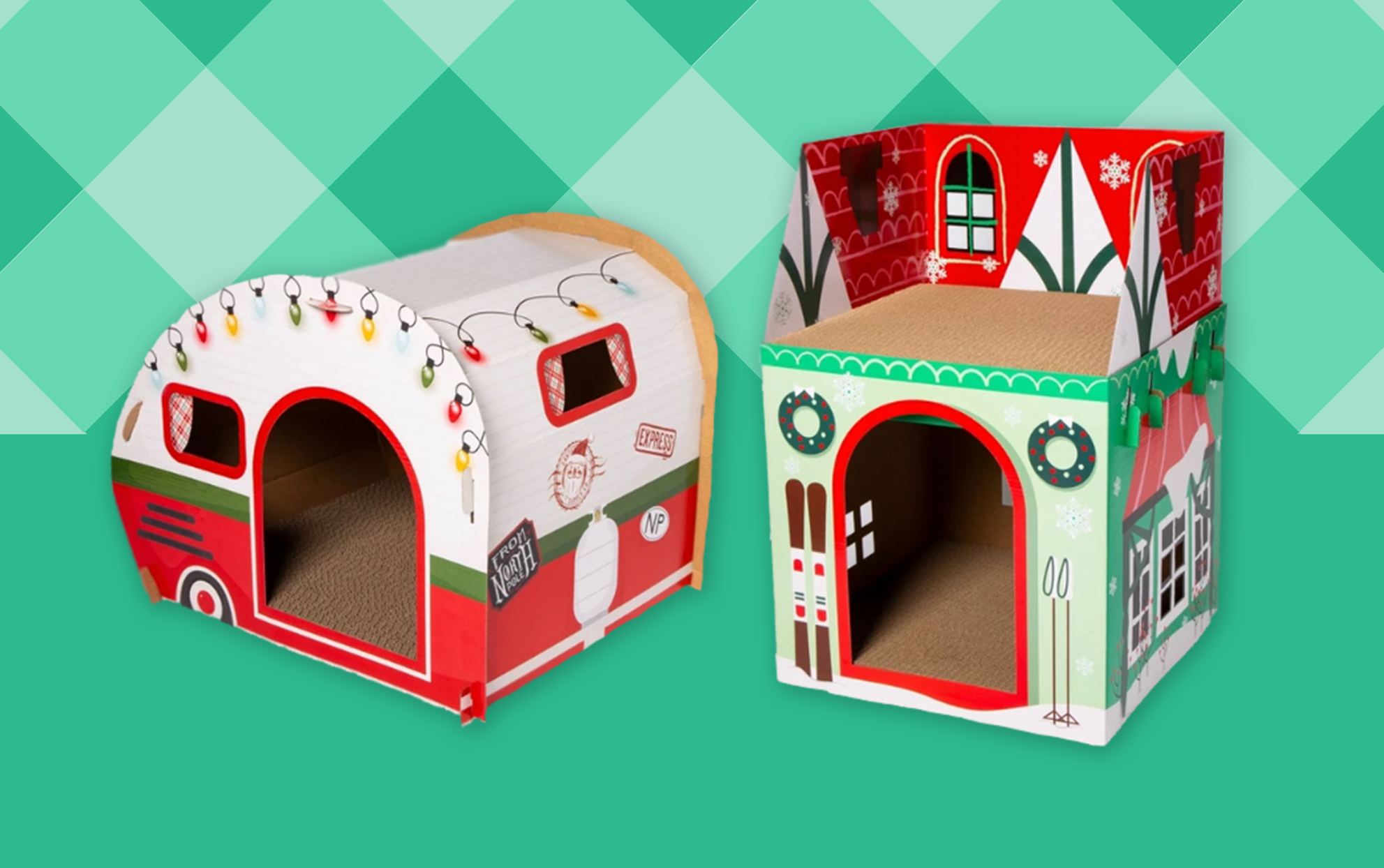 Target Christmas Cat Houses
