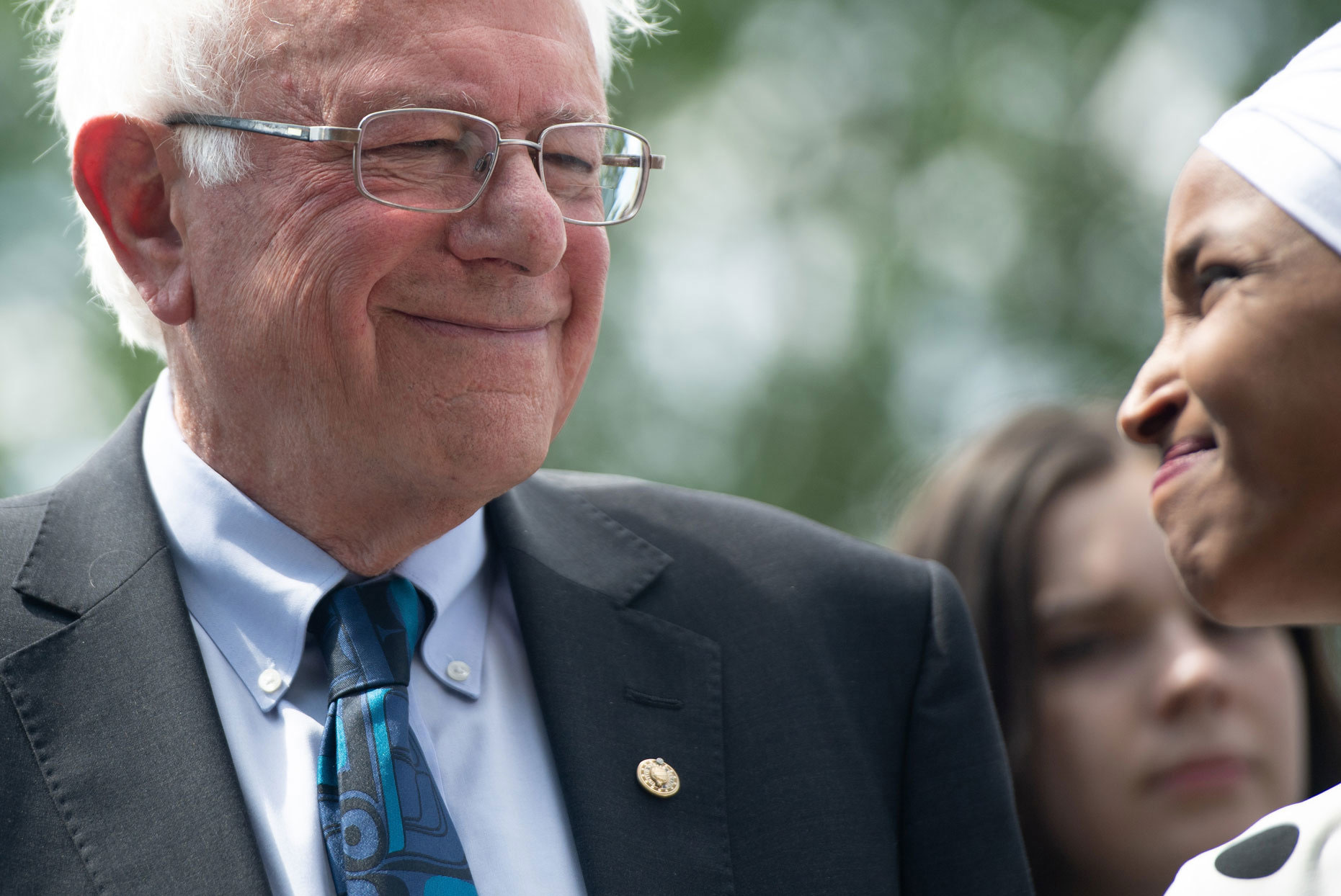 Bernie Sanders and Ilhan Omar Want to Provide 3 Meals a Day for All Children in the U.S.