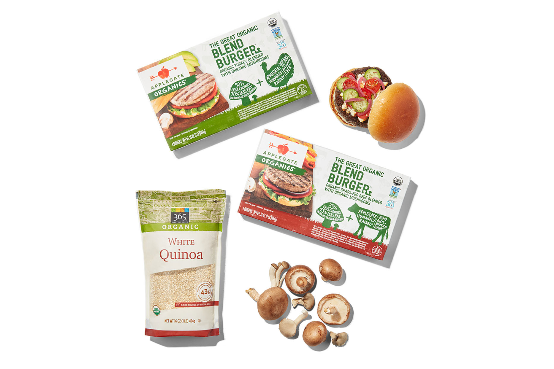 Flexitarian protein products