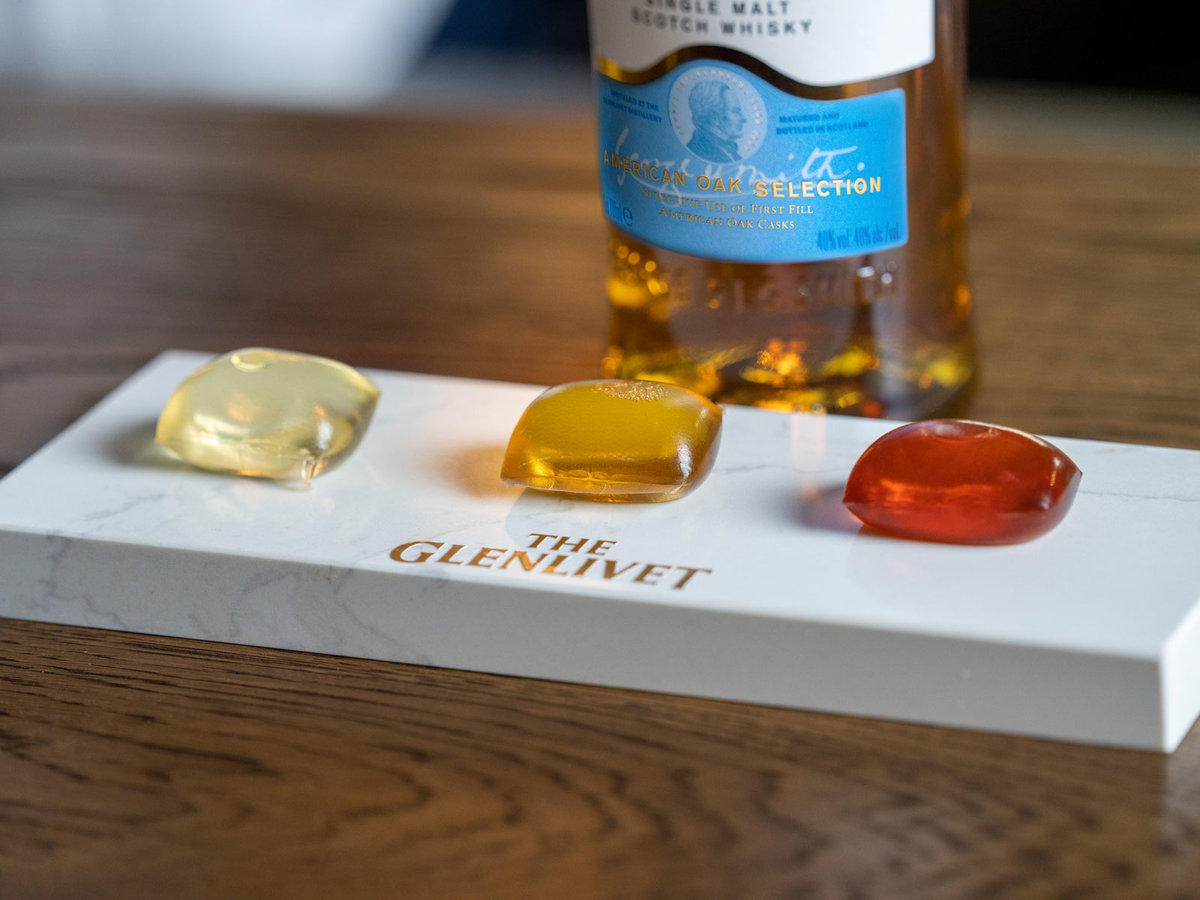 The Glenlivet's 'Capsule Collection' Is Sort of Like Gushers, but Whisky