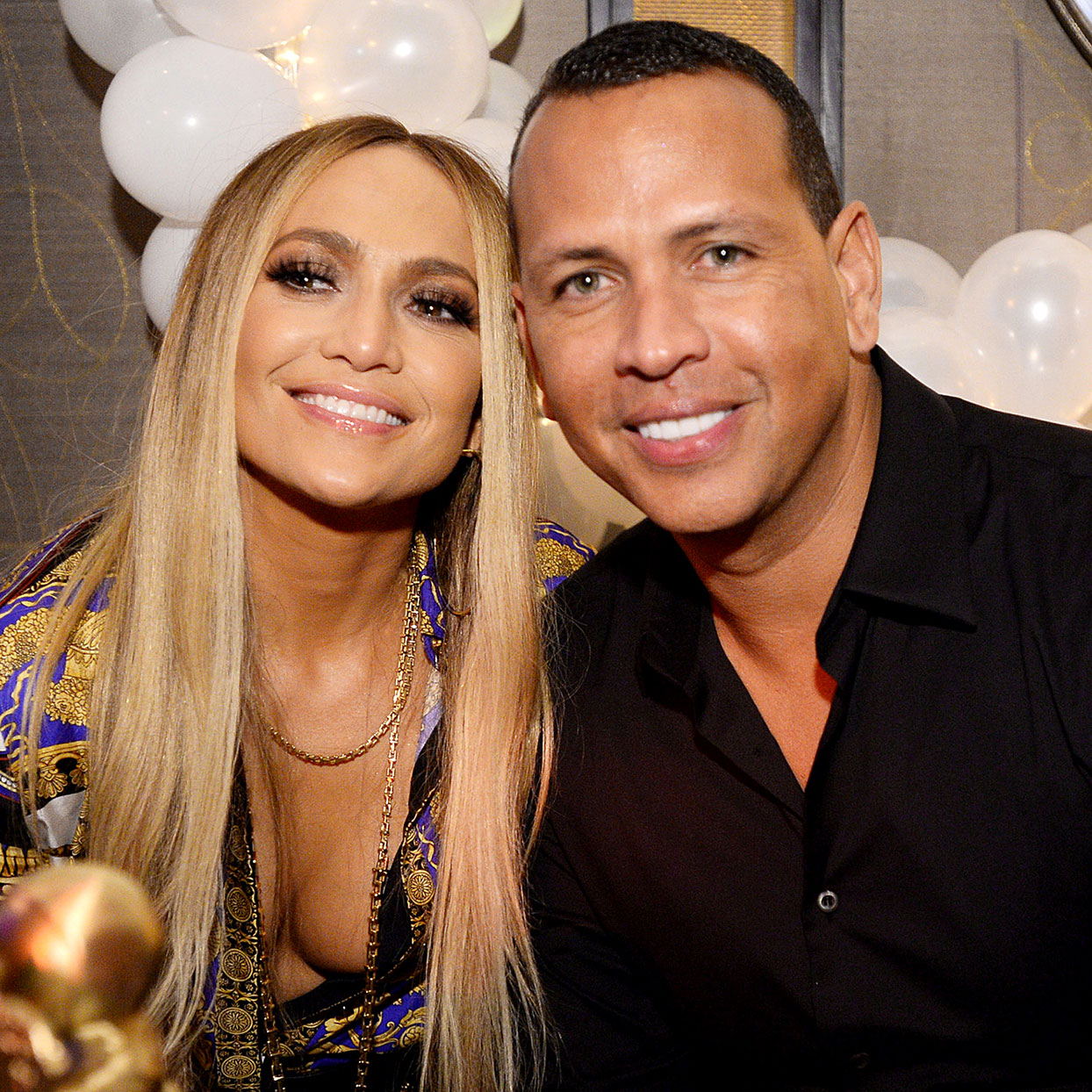 Jennifer Lopez and Alex Rodriguez Donate a Year's Worth of Food to Elementary School