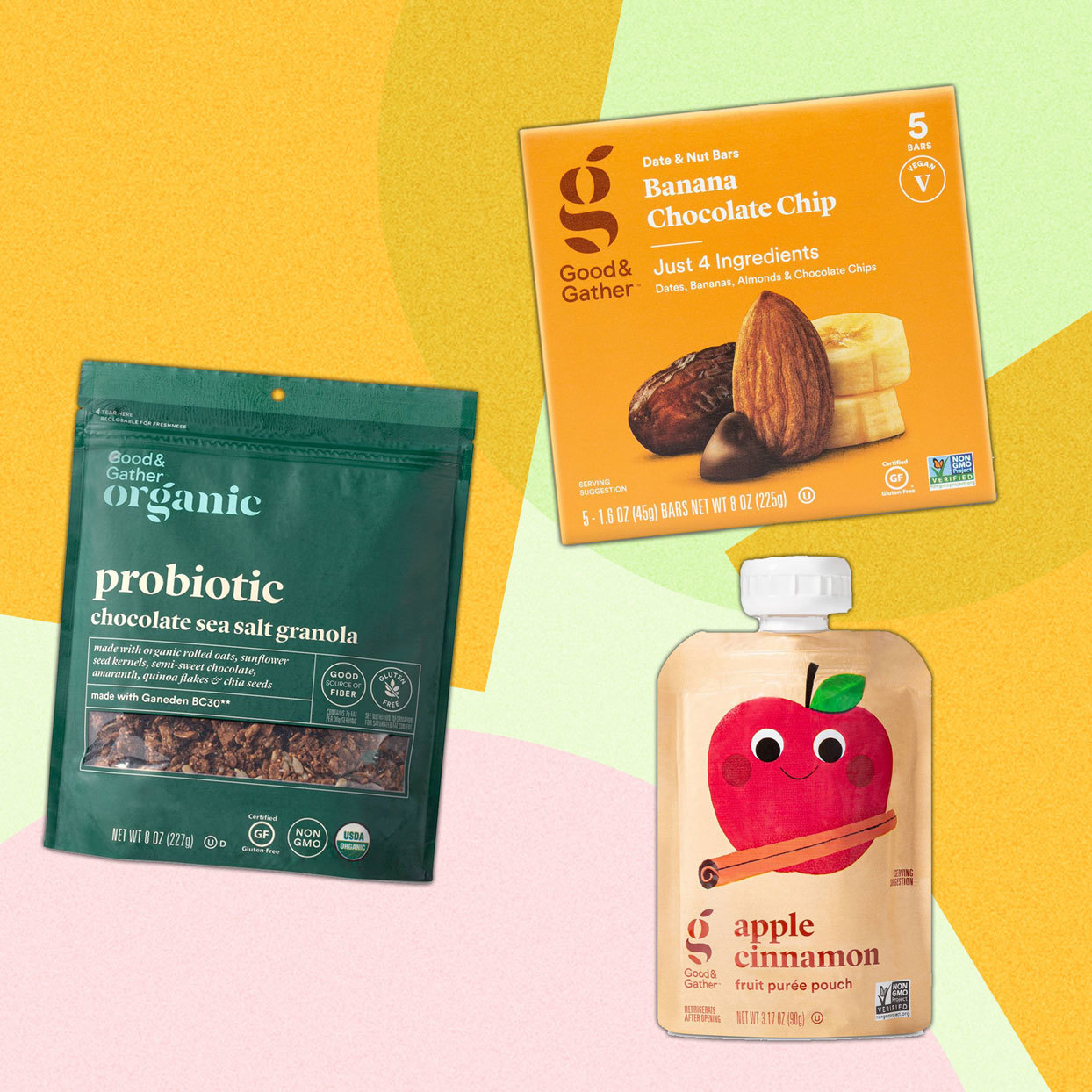 Various healthy Target products