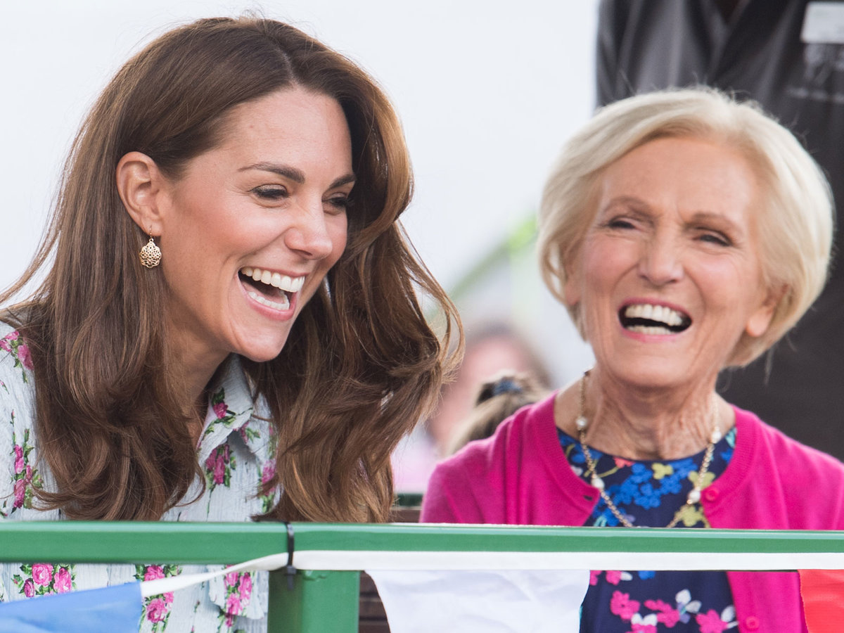 Mary Berry and Kate Middleton Will Reportedly Star in a Holiday Cooking Special Together