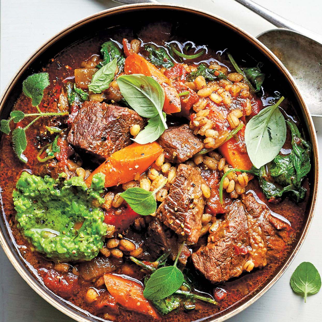 Slow-Cooker-Beef-and-Barley-Stew-With-Red-Wine-and-Pesto