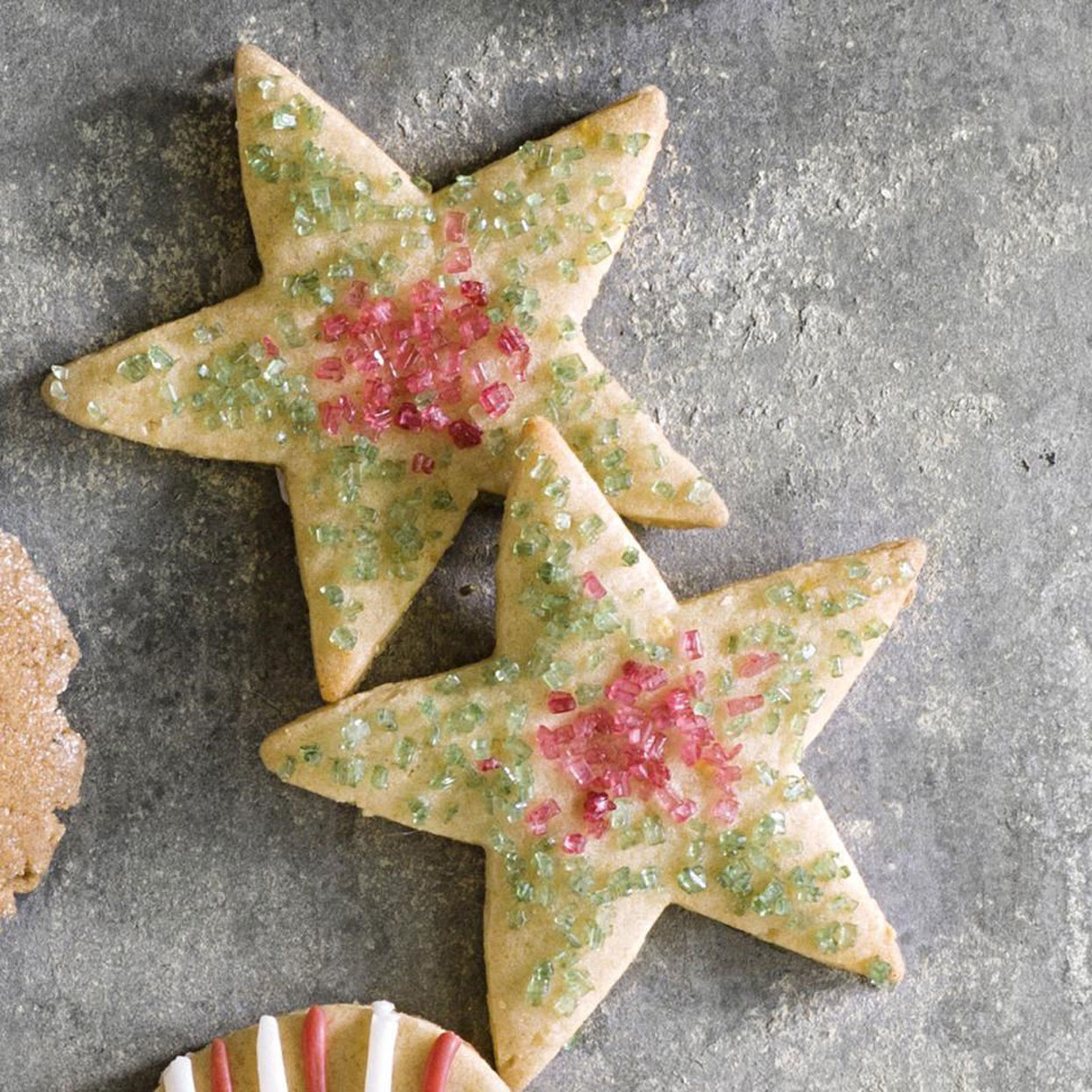 This healthy sugar cut-out cookie recipe uses white whole-wheat flour, honey and lemon zest to make a delicious cookie perfect for decorating. Pull out all your cookie cutters and decorate these adorable cookies with natural decorating sugar and icing.