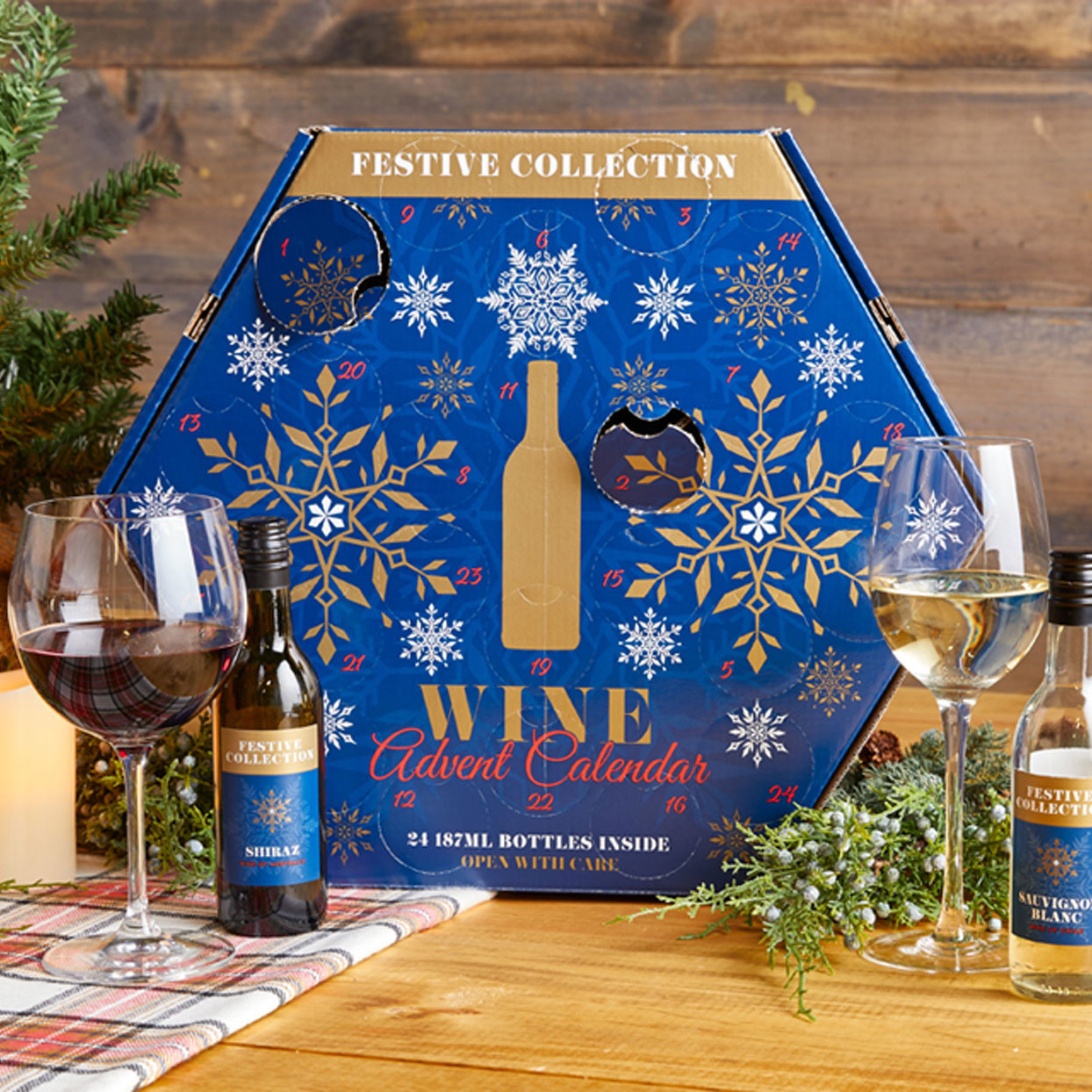 We Tried Aldi's Wine & Cheese Advent Calendars Before They Go on Sale Tomorrow—Here's What We Thought