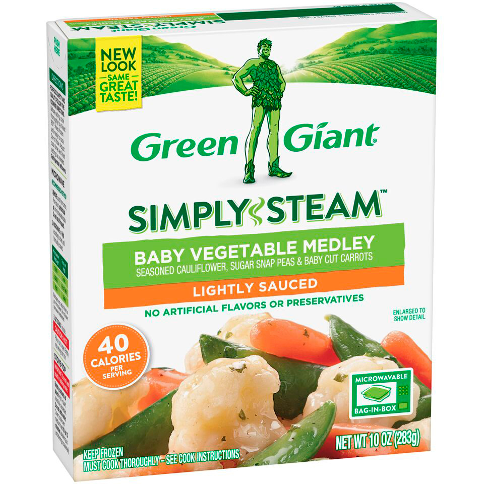 Green Giant Frozen Baby Vegetable Medley