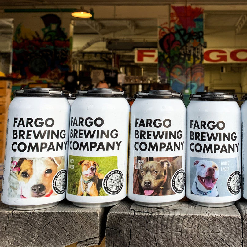 All the Dogs on This Brewery's Beer Cans Are Up for Adoption