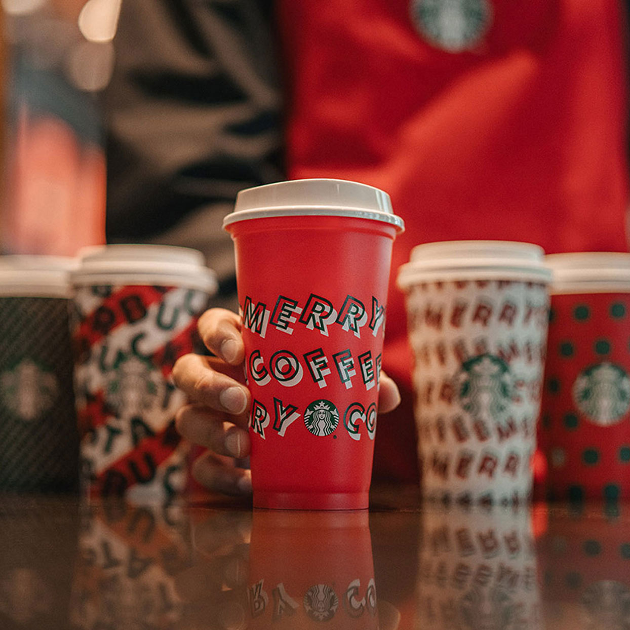 Starbucks Is Offering Reusable Holiday Cups for Free Tomorrow—Here's How to Get One