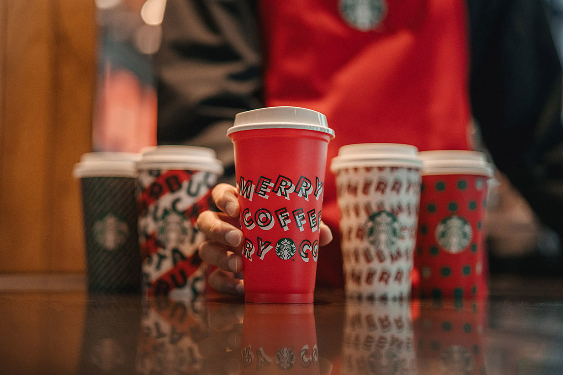 Starbucks reusable holiday cups 2019