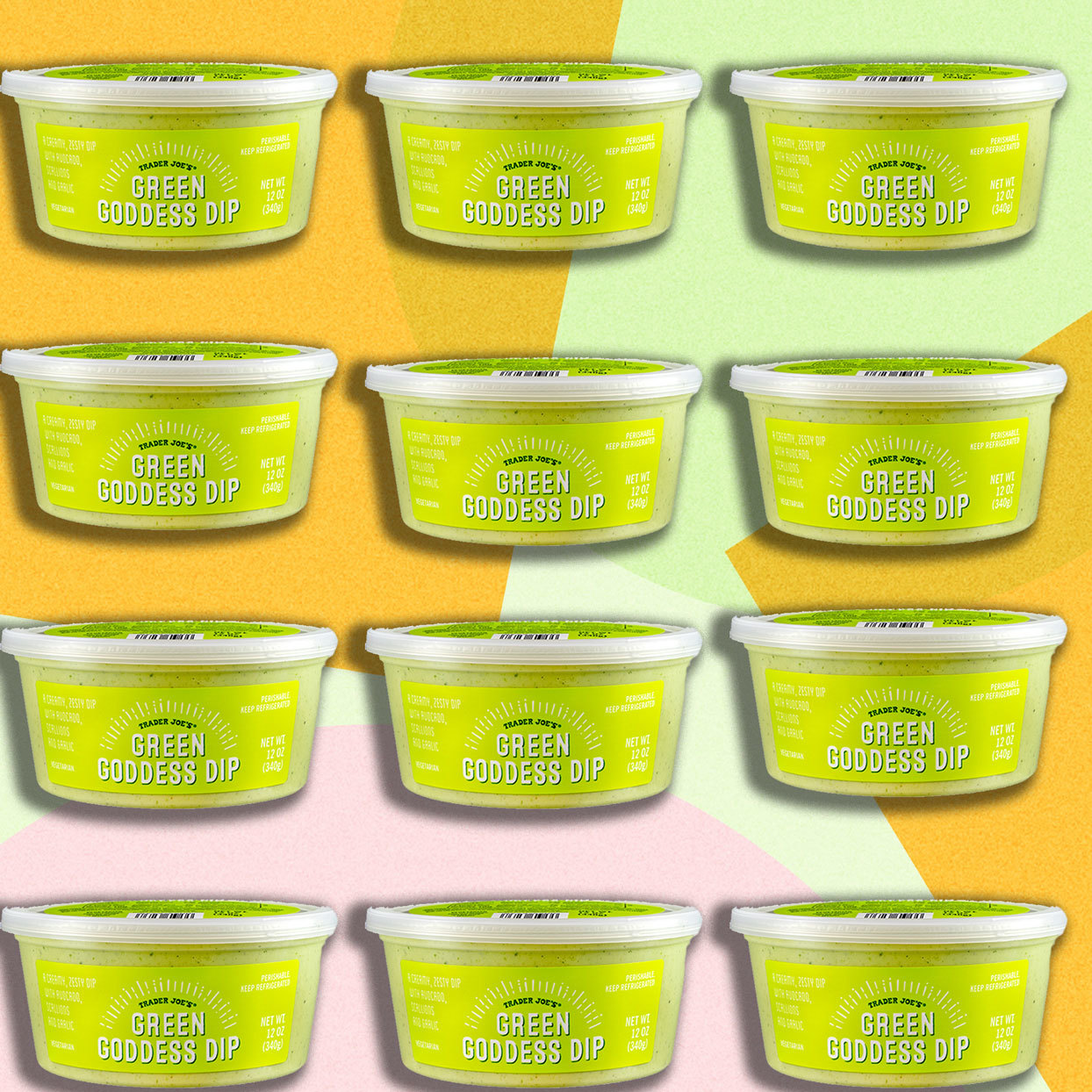Trader Joe's Just Launched an Avocado Green Goddess Dip and We Want to Put It on Everything