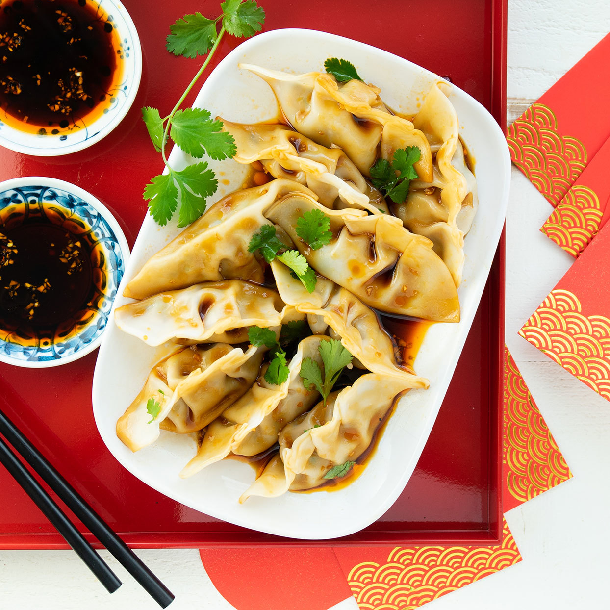 Make Gingery Chicken and Shiitake Dumplings to Celebrate the Lunar New Year