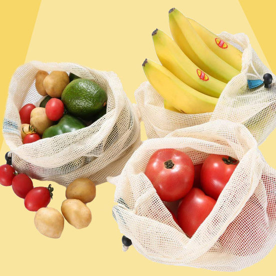 Forget Single-Use Plastic—You Can Use These Produce Bags Again and Again