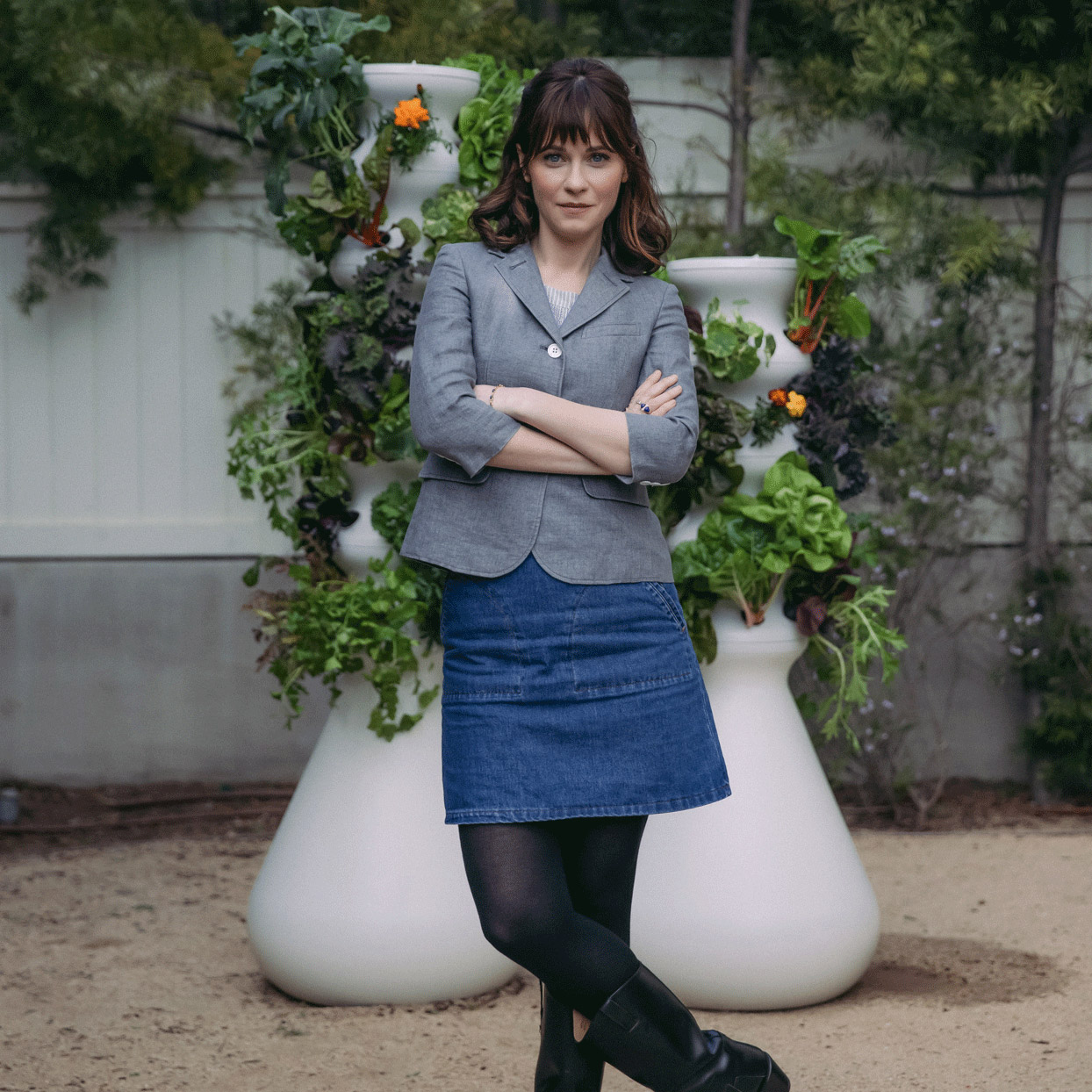 Zooey Deschanel's Company Makes It So Easy to Grow Your Own Vegetables, You Literally Can't Mess it up
