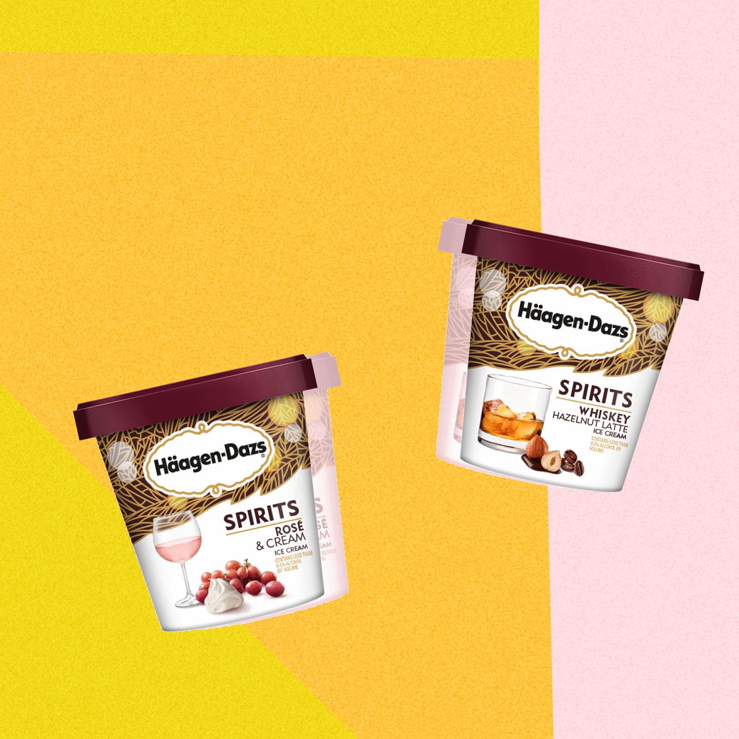 Häagen-Dazs Is Launching 2 New Boozy Ice Cream Flavors—and We Can't Wait to Try Them
