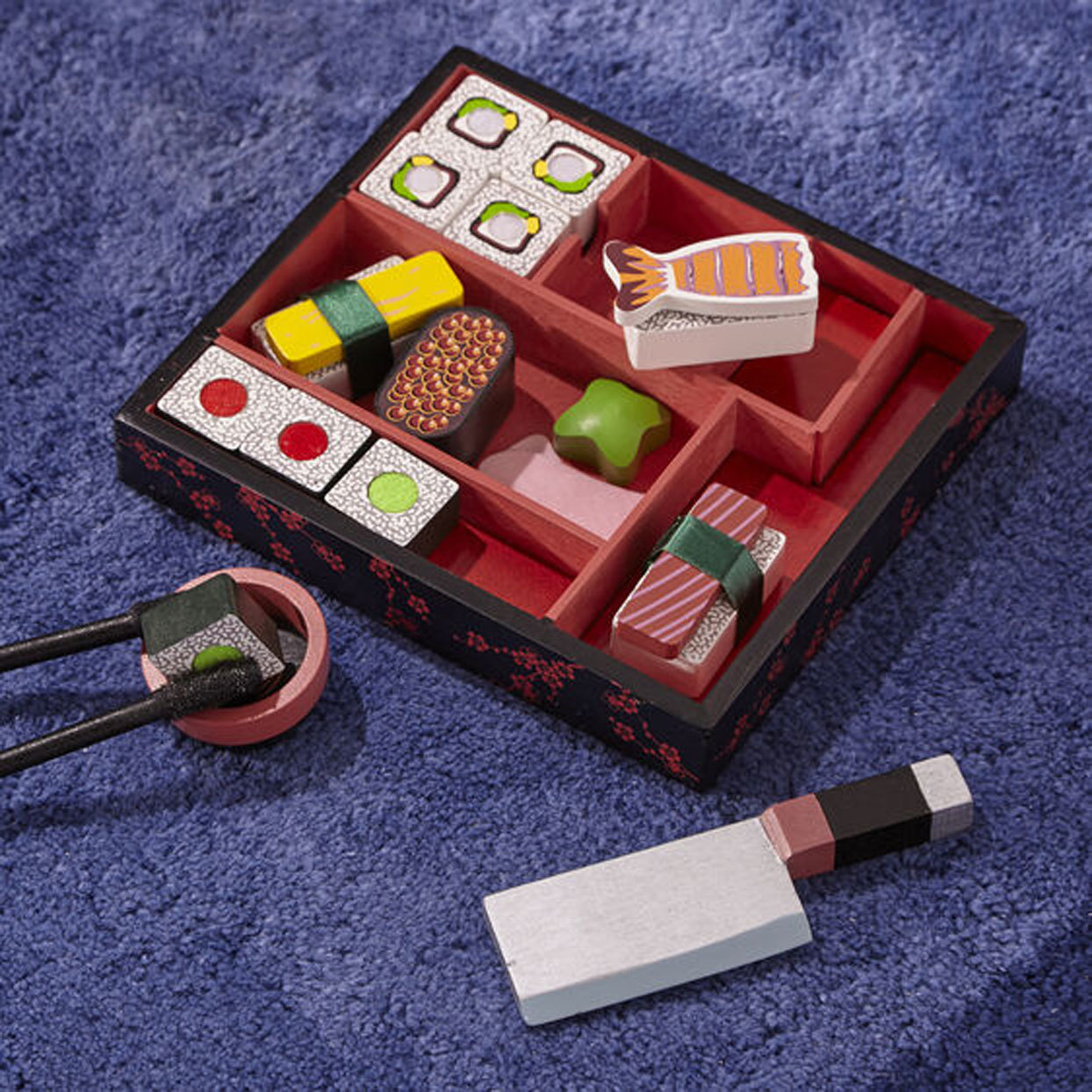 This Pretend Sushi Rolling Kit Is Perfect for Your Sophisticated Child