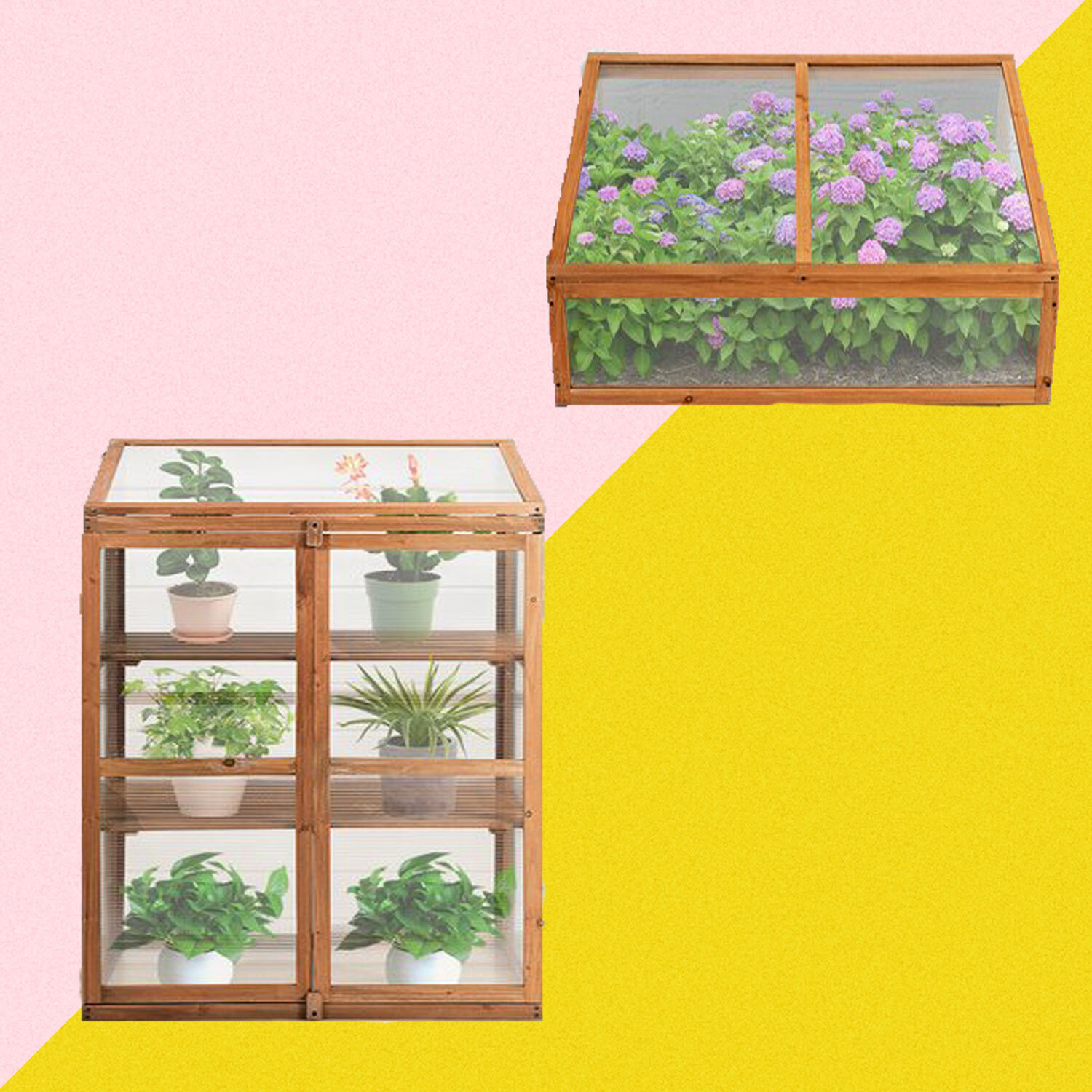 These Mini Greenhouses From Wayfair Are the Perfect Addition to Any Garden