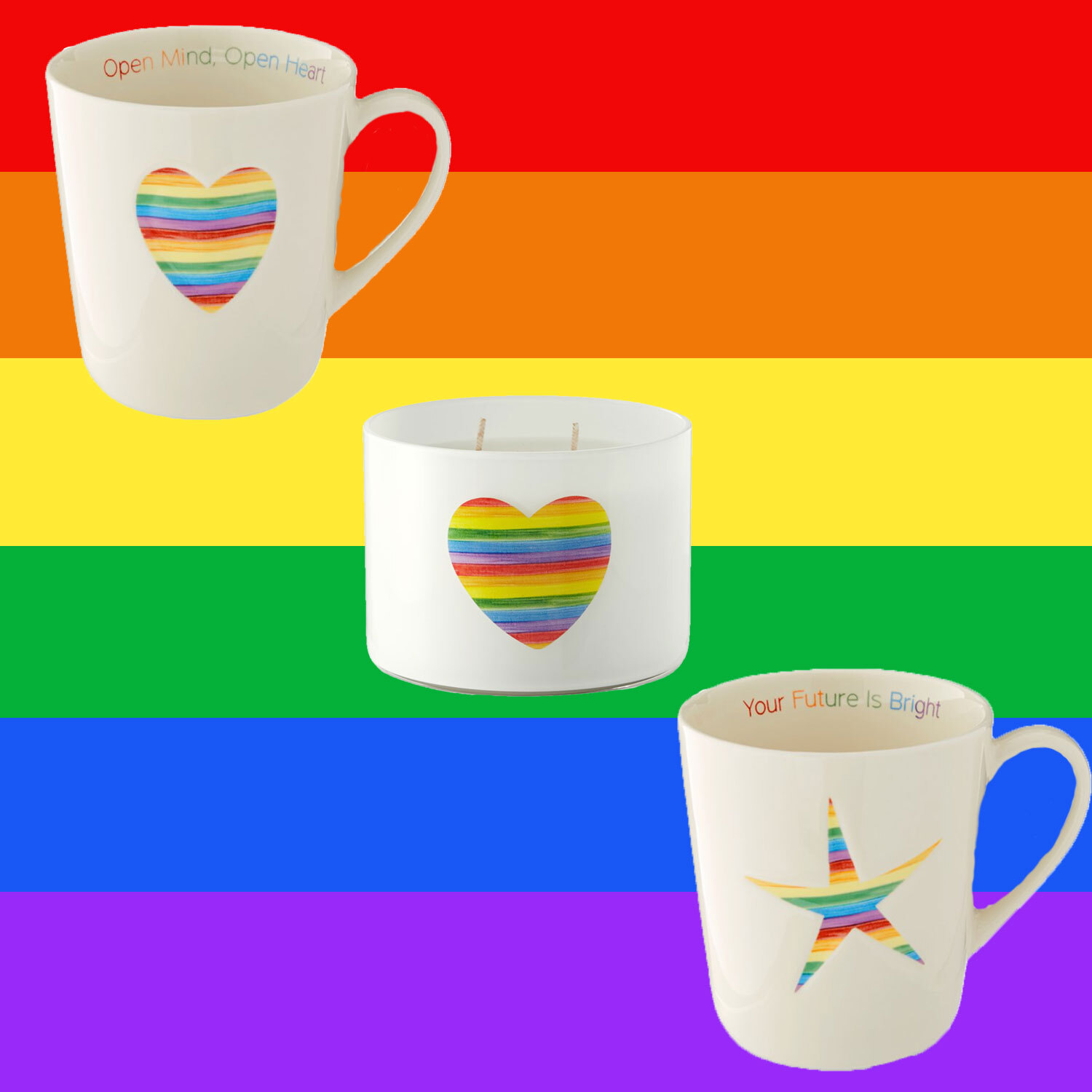 In Honor of Pride, Williams Sonoma Released a Rainbow Collection with 50% of Proceeds Going to The Trevor Project