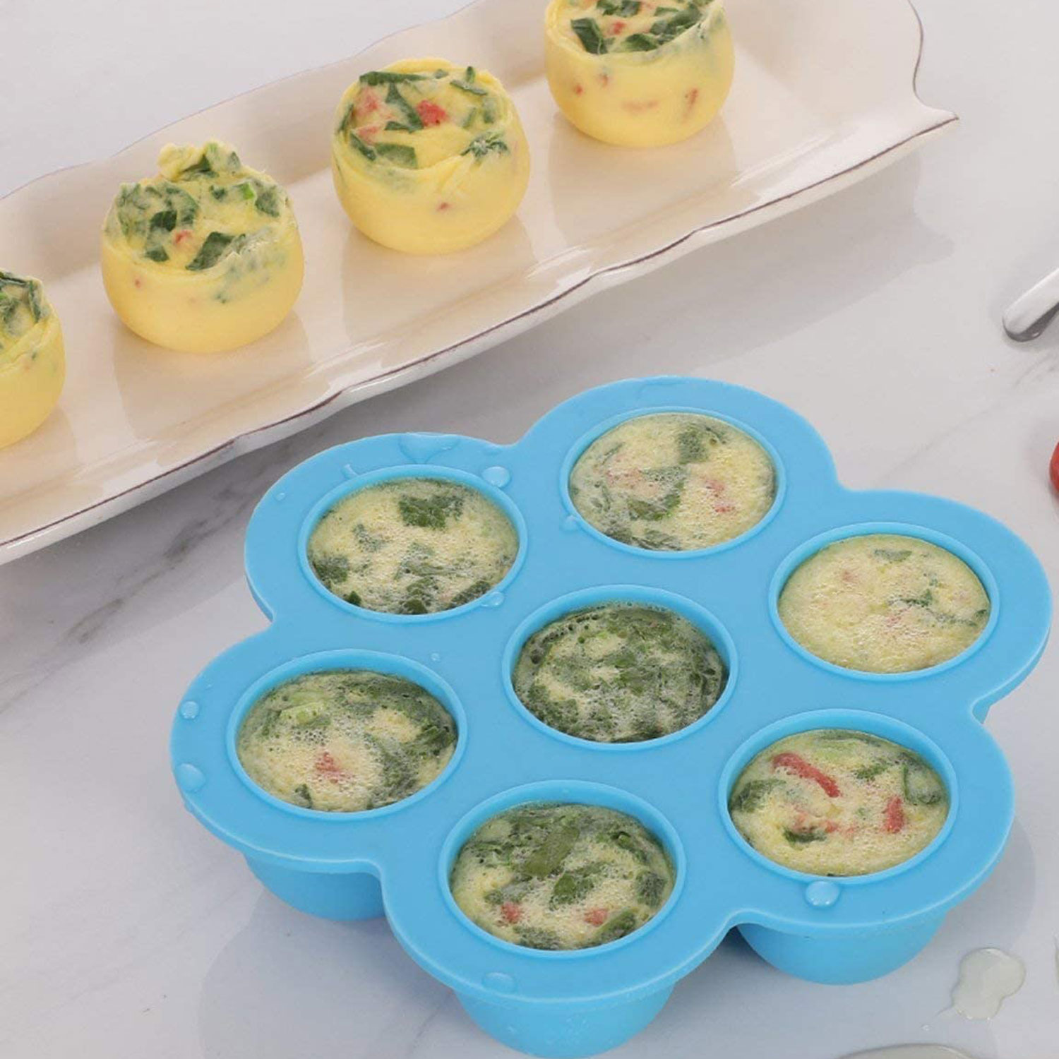 I Love Using This Silicone Mold for Making Copycat Starbucks Sous Vide Egg Bites at Home