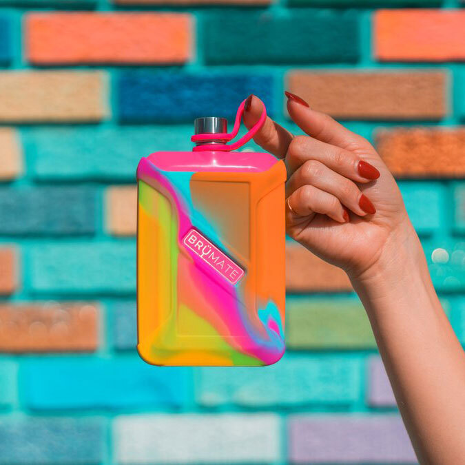 This Cute Tie-Dye Flask Will Help You Sip in Style at Your Next Outdoor Gathering