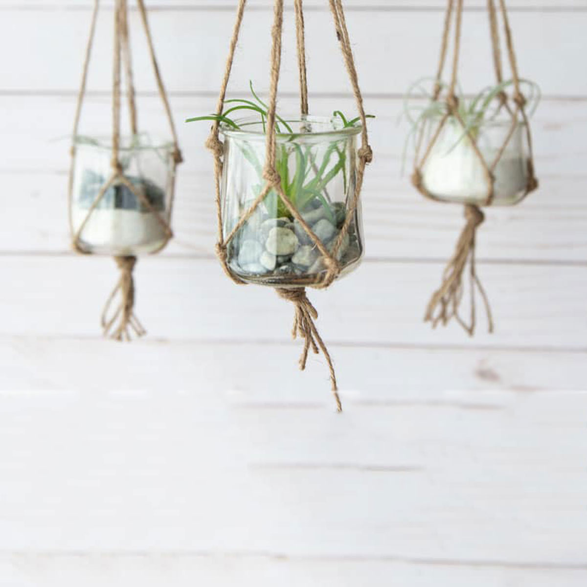 How to Make an Adorable Hanging Planter from a Yogurt Cup