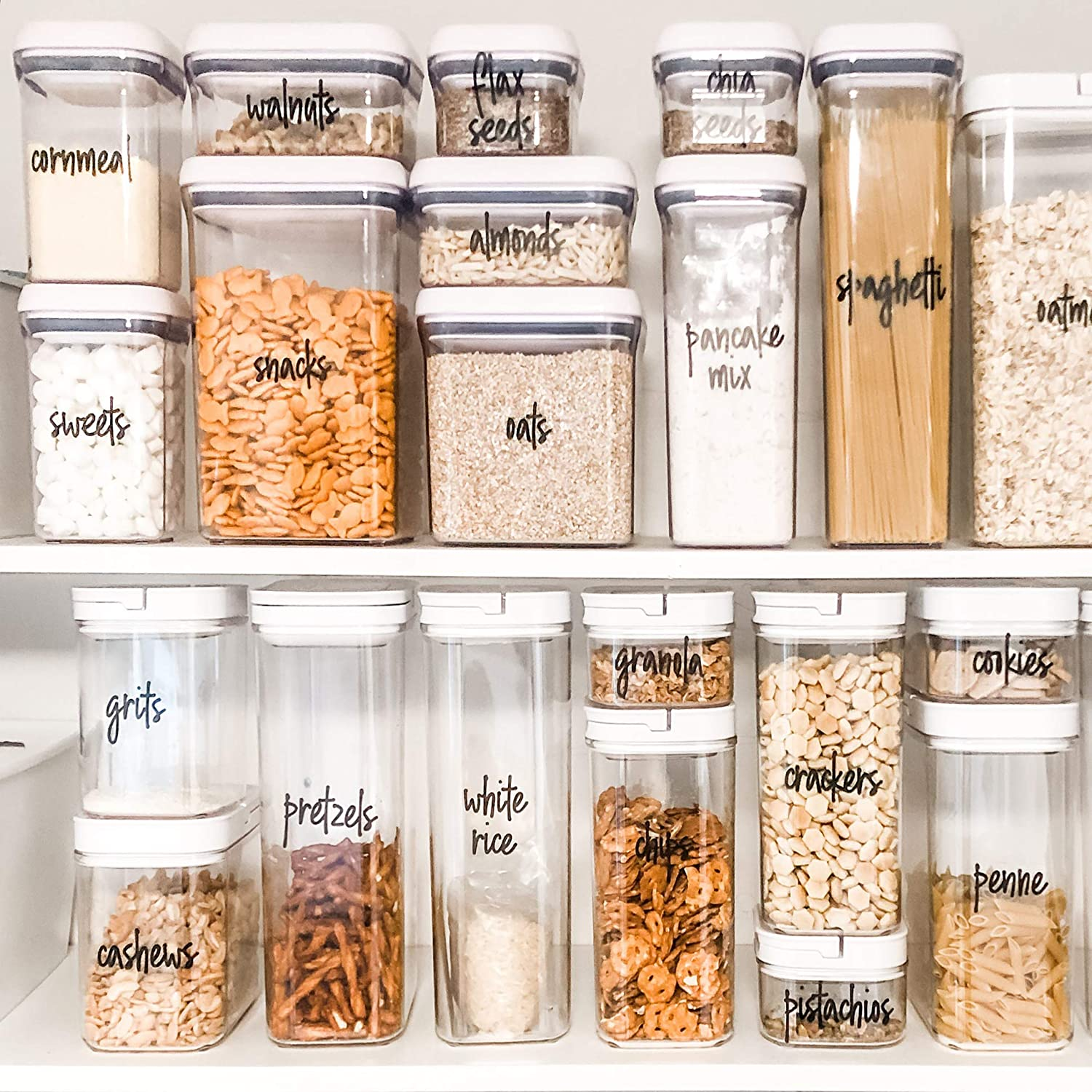 These Ingredient Labels Will Make Your Pantry Look Organized in 5 Minutes
