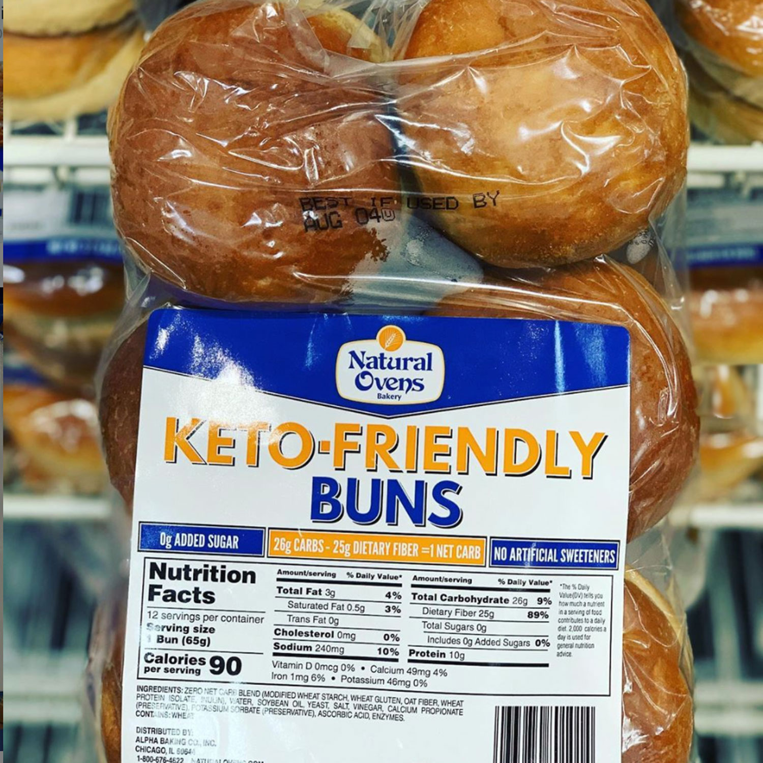Costco Rsquo S Keto Friendly Hamburger Buns Only Have 1 Net Carb Mdash But Are They Healthy Eatingwell
