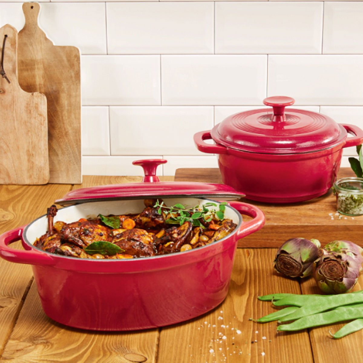 Lidl's Dutch Ovens Look Exactly Like Le Creuset's—but They're Only $20