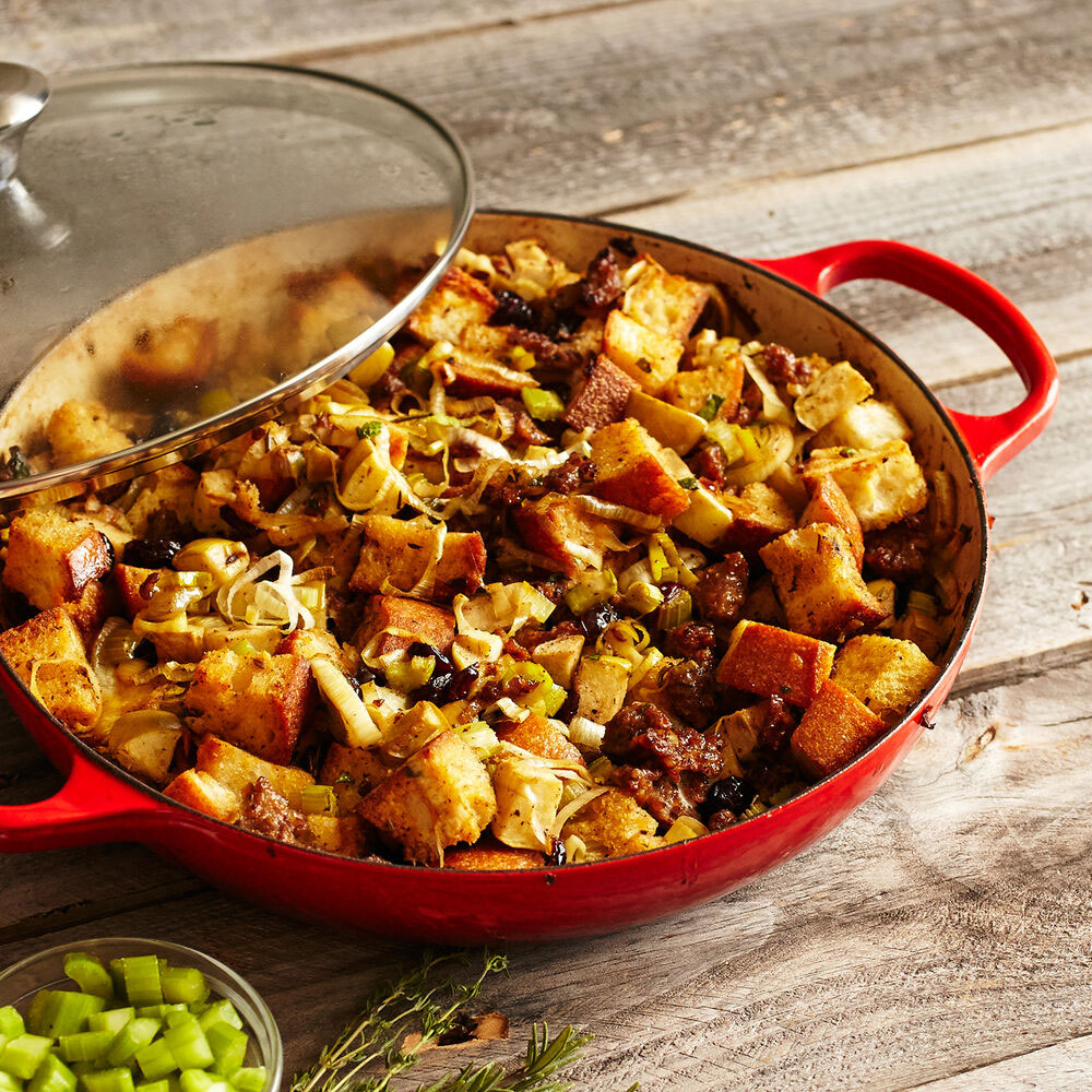 The Le Creuset Buffet Casserole With Glass Lid Is Perfect For Easy Weeknight Dinners And It S Over 40 Off Eatingwell