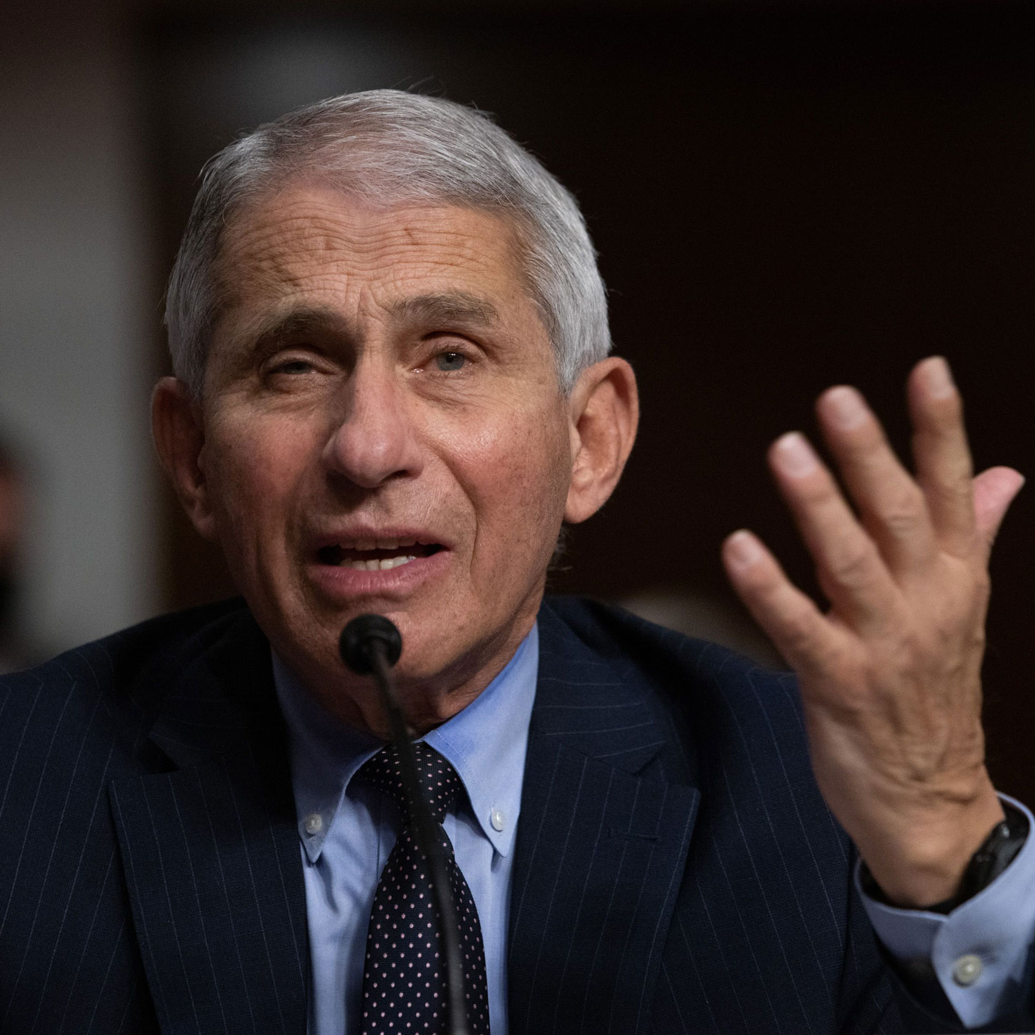 "Why Dr. Fauci Thinks COVID-19 Herd Immunity Is ""Total Nonsense"""