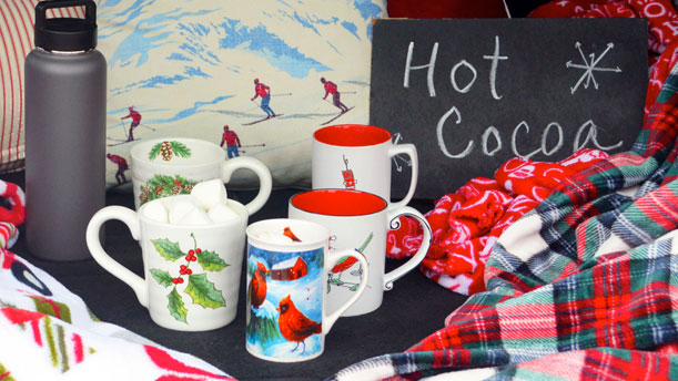 How to Have a Holiday Tailgate Party, Complete with a Hot Cocoa Bar