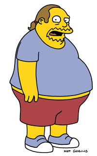 Image result for comic book guy