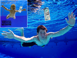 The Nirvana baby, now 17, recreates iconic 'Nevermind' photo | EW.com