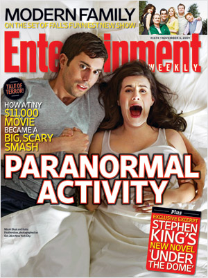 This Week S Cover How Paranormal Activity Became A Scary Box Office Smash Ew Com