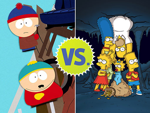 South Park' versus 'The Simpsons': Which is better? | EW.com